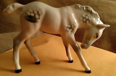 vintage Beswick England porcelain horse in pristine condition