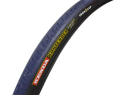 26x1 Wheelchair/Bicycle Tire, Kenda Pneumatic K196 Road Tread, Royal Blue