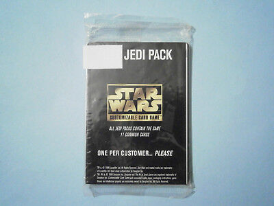 Star Wars CCG Cards Jedi Pack (11 cards). Decipher, 1996. Unopened