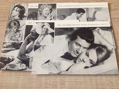 Chapman-Report 1962, Promotion Fotos des Skandalfilms, sehr rar