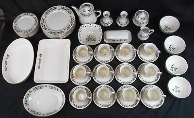 Large Lot of Christmas China from Japan: Royal Limited Holly Holiday & Others