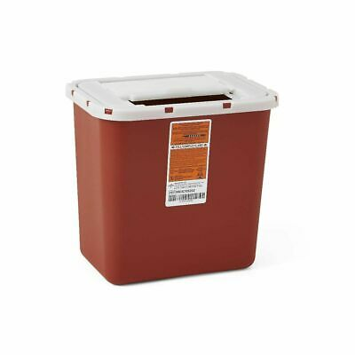 LOT OF 6!! Multi-Purpose Sharps Container 2 Gallon Red - *FREE SHIPPING*