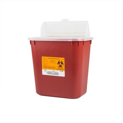8 SHARPS! 2 Gallon Container 2GL Sharp Doctor Tattoo Home Needle Disposal *DEAL*