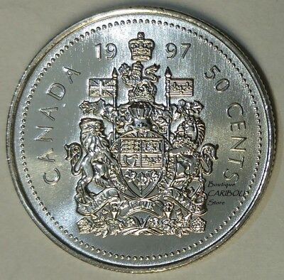 1997 Canada Proof-Like 50 Cents