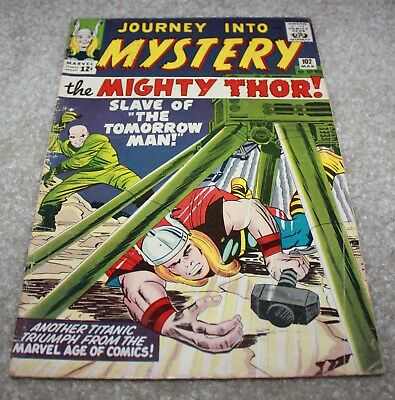 Journey into Mystery #102 (Mar 1964, Marvel) 1st Hela and Sif G/G+