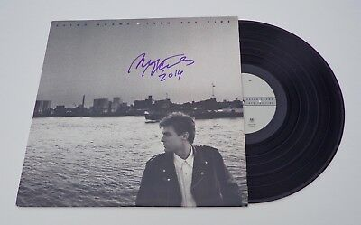 Bryan Adams Signed Into The Fire LP Record COA