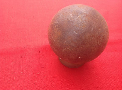 Early Iron 4 .25 ins dia Cannon Ball Great Collectable