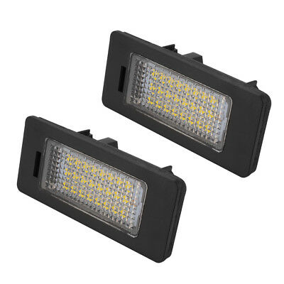 2X Error Free 18LED Luces matrícula Lámpara para BMW E39 E60 E70 E90 E93 MA1300