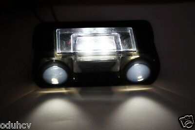 1x LED Lights Front Rear License Number Plate Lamps for MAN Scania DAF Volvo