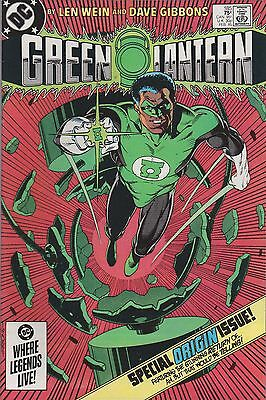 Green Lantern #185 (Feb 1985, DC Comics) In Blackest Day*** FN/VF***Bag & Board