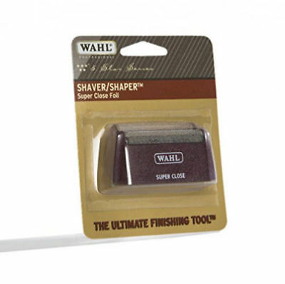 Wahl Professional Five Star Series #7031-400 Replacement Foil – Burgundy&Silver