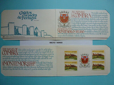 Lot 11046 Timbres Stamp Carnet Chateaux Et Armoiries Portugal Annee 1986