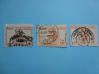 Lot 6167 Timbres Stamp Poste Aerienne Angola Annee 1947
