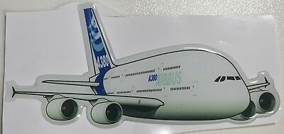 Airbus A380 Epoxy Resin aircraft Sticker