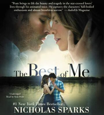 THE BEST OF ME unabridged audio book on CD by NICHOLAS SPARKS - Brand New! 9 Hrs