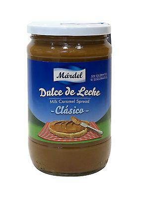 Dulce de Leche Mardel 875g glass jar - Produced in Spain