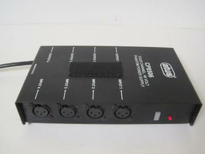 Audio-Technica Phantom Power Supply ATUS Model CP8506 4 Channel Tested cp 8506