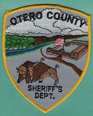 OTERO COUNTY SHERIFF's OFFICE PATCH ~ COLORADO ~ VERY NICE ARTWORK & COLORS