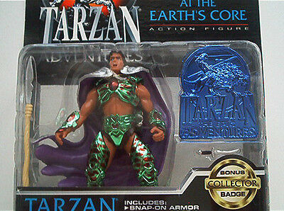 Tarzan Earths Core Actions Figur 1995 Dini Armored OVP Blister Trendmasters