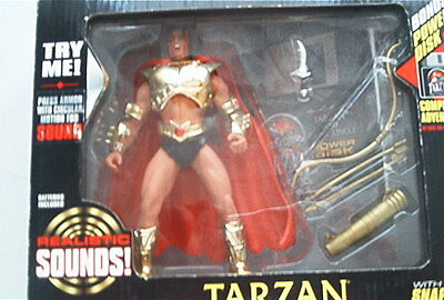 Sound & Disk Tarzan Jungle Lord Actions Figur City of Gold 1995 OVP Blister