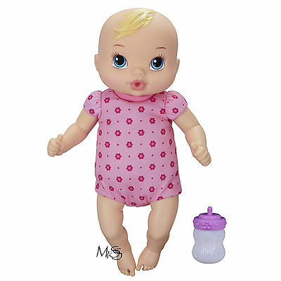 Hasbro Baby Alive Luv n Snuggle Doll Blonde Hair  *  Brand New in Box  *