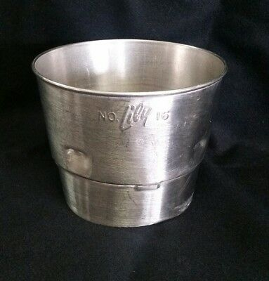 Lily No 16   Stainless Steel Milk Shake Extension Top For Malt Cups