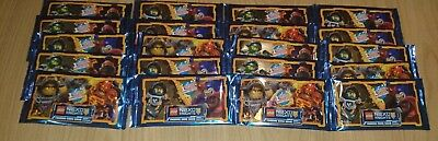 LEGO NEXO KNIGHTS Trading Card Game 20 Booster = 100 Karten OVP