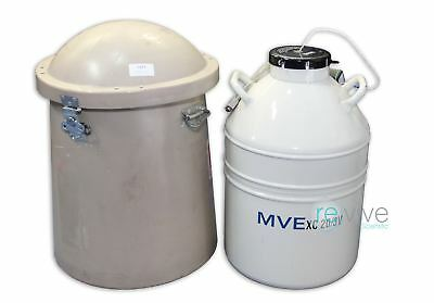 MVE XC 20/3V Cryoshipper For Shipping of Biological Samples at Cryogenic Tempera