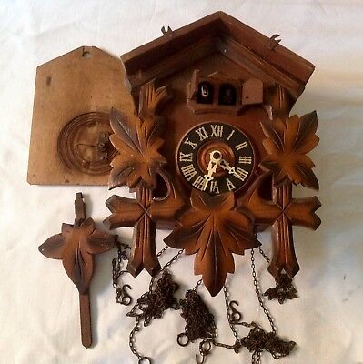 Vintage Musical Cuckoo Clock - Spares or Repair