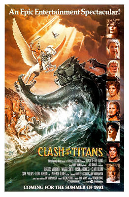 "Clash of the Titans ( 11"" x 17"" ) Movie Collector's  Poster Print ( T2)- B2G1F"