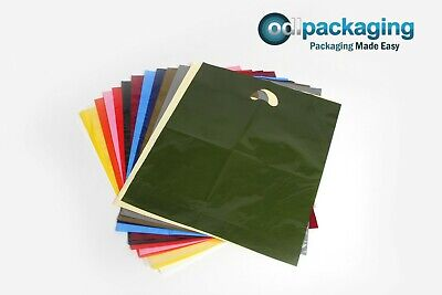 Strong Quality Carrier Bags Varigauge - Various Sizes & Quantities