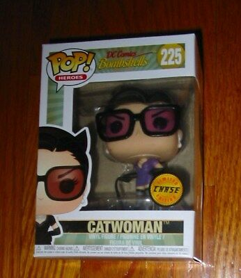 Funko Pop! Heroes Dc Comics Bombshells Catwoman #225 Limited Chase Figure