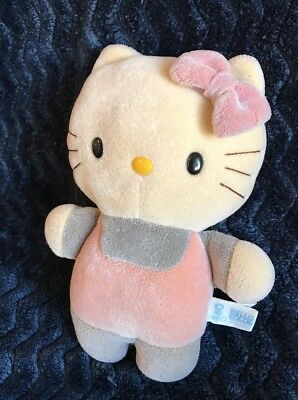 Vintage 1985 Sanrio HELLO COLOR Change Plush Hello Kitty Petite Small Plush VTG