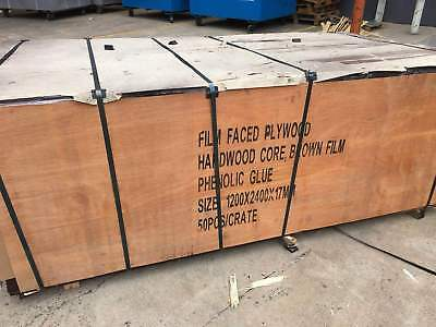 New Formply 2400*1200*17mm Brown Filmed Formwork Plywood