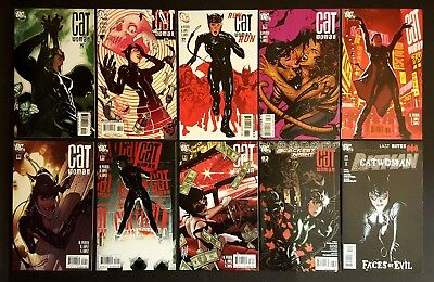 Catwoman Lot Adam Hughes 10 NM Issues #75-83 +Alex Ross Batman #685 Signed by DN