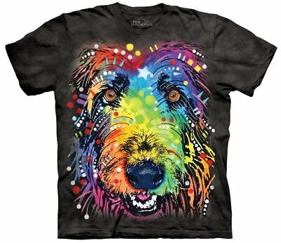 New Russo Irish Wolfhound T-Shirt in Adults Sizes - Dog Breeds by Dean Russo