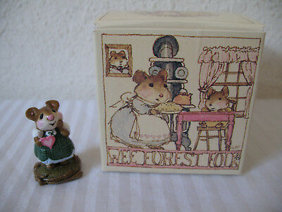 Wee Forest Folk Girl Sweetheart M-80 Special Color Rare Edition AP 1982 w Box