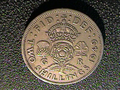 Great Britain, Coin, 1949, Two Shilling, Florin