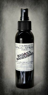The Best BADASS BANISHING Spray Ever - Protect Yourself - This Spray Works!