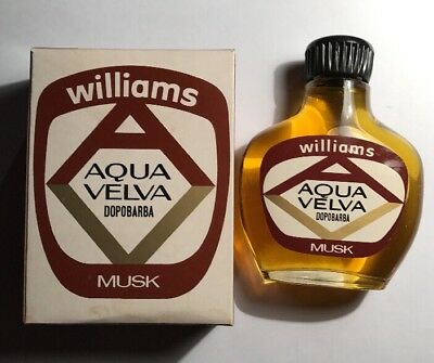 Aqua Velva Dopobarba Williams Musk 120 Ml