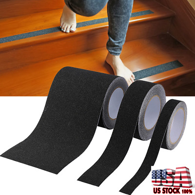 Safe Non Skid Anti- slip Tape Adhesive Stickers Strip Stair Floor Smooth Surface
