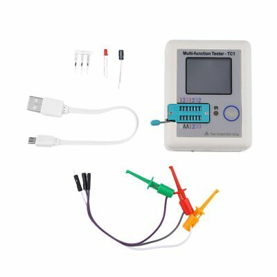 LCR-TC1 TFT Screen Display Multi-functional TFT Backlight Transistor Tester ~bH
