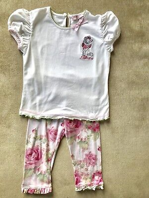 **Monnalisa** Aristocats Girls Outfit Age 24 Months VERY CUTE