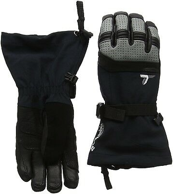 (Small, Black/Light Grey) - Columbia Women's Winter Cataly Performance Gloves