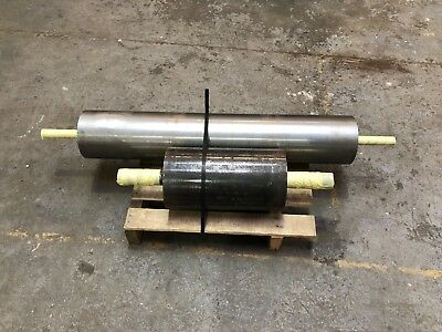 Tail Drum,Heavy Duty Conveyor Drum/ Roller, 168dia x 500mm face & 30mm shaft