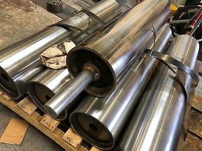 Conveyor Tail Drum/Roller Heavy Duty, Bespoke 168dia x 1200mm face & 40mm shaft
