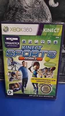 Kinect Sports: Season 2 - Kinect Required Xbox 360 PAL NEW / SEALED