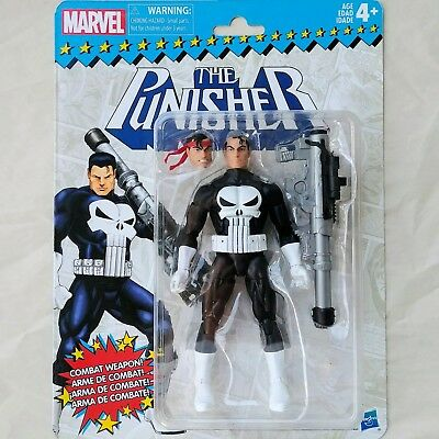 THE PUNISHER Marvel Legends Super Heroes Vintage RETRO Carded 6-Inch Figure