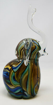 NEW Juliana Objets D'art Glass Funky Elephant Paperweight Figurine Gift Ornament