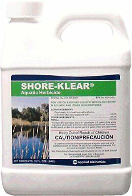 Shore Klear Aquatic Herbicide Water Treatment 32 OZ. Shore Clear Glyphosate